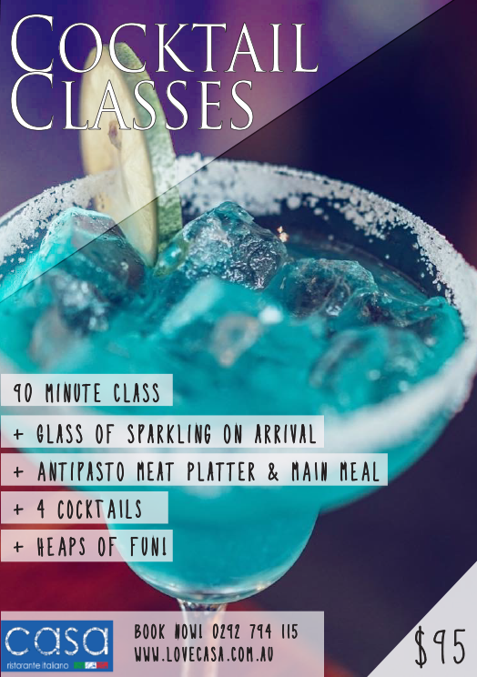 Cocktail Making Classes 1
