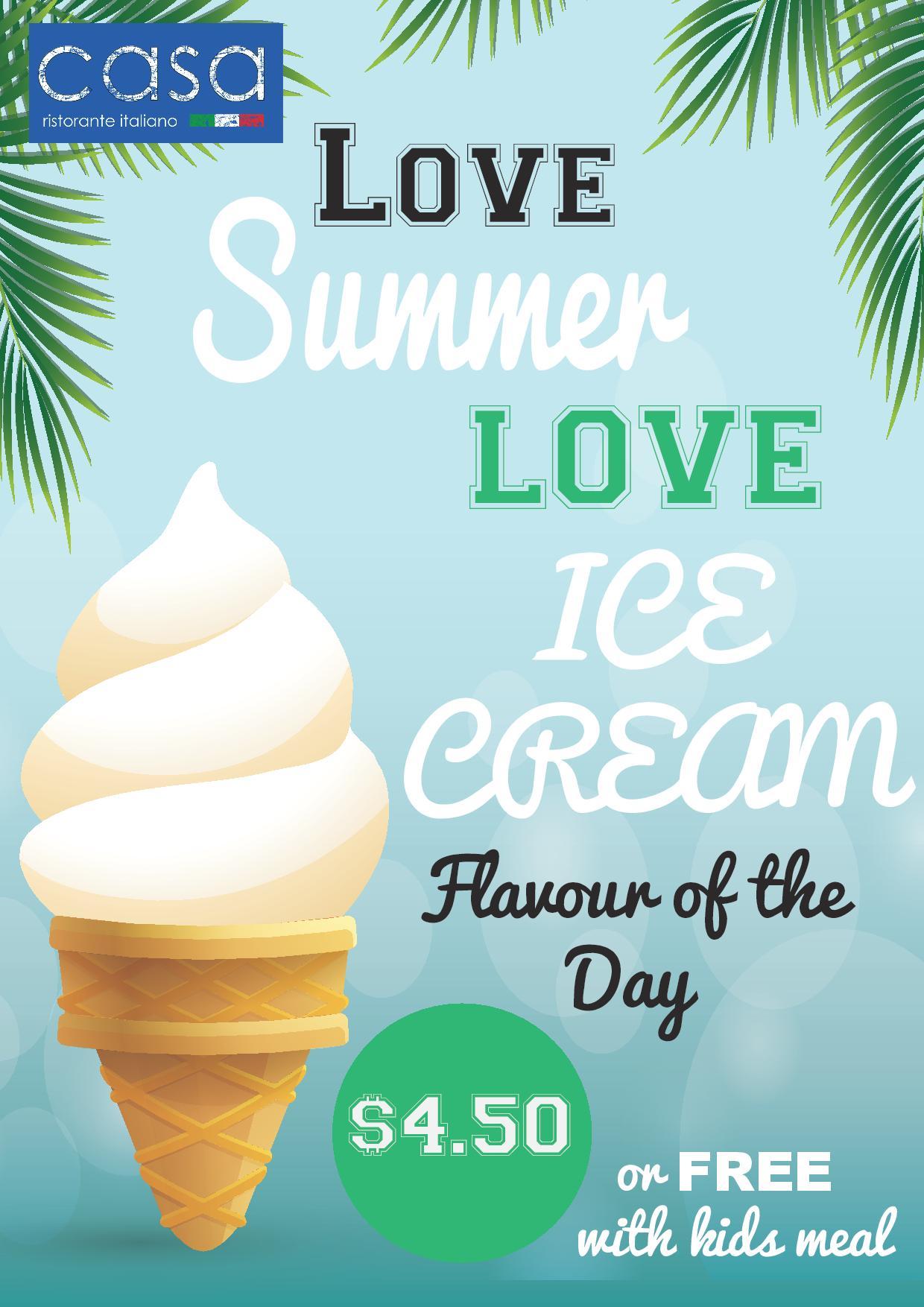 Ice Cream Takeaway