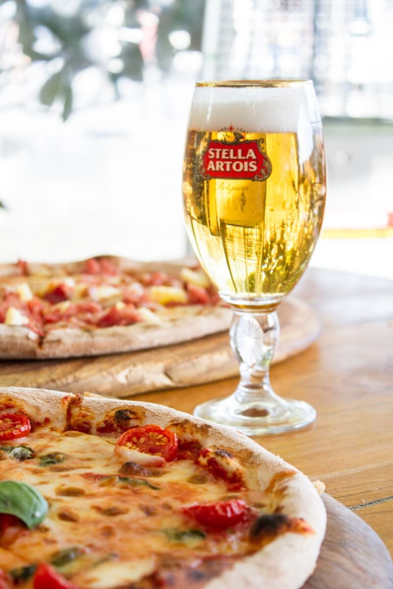 Have a Casa pizza at Happy Hour King Street Wharf