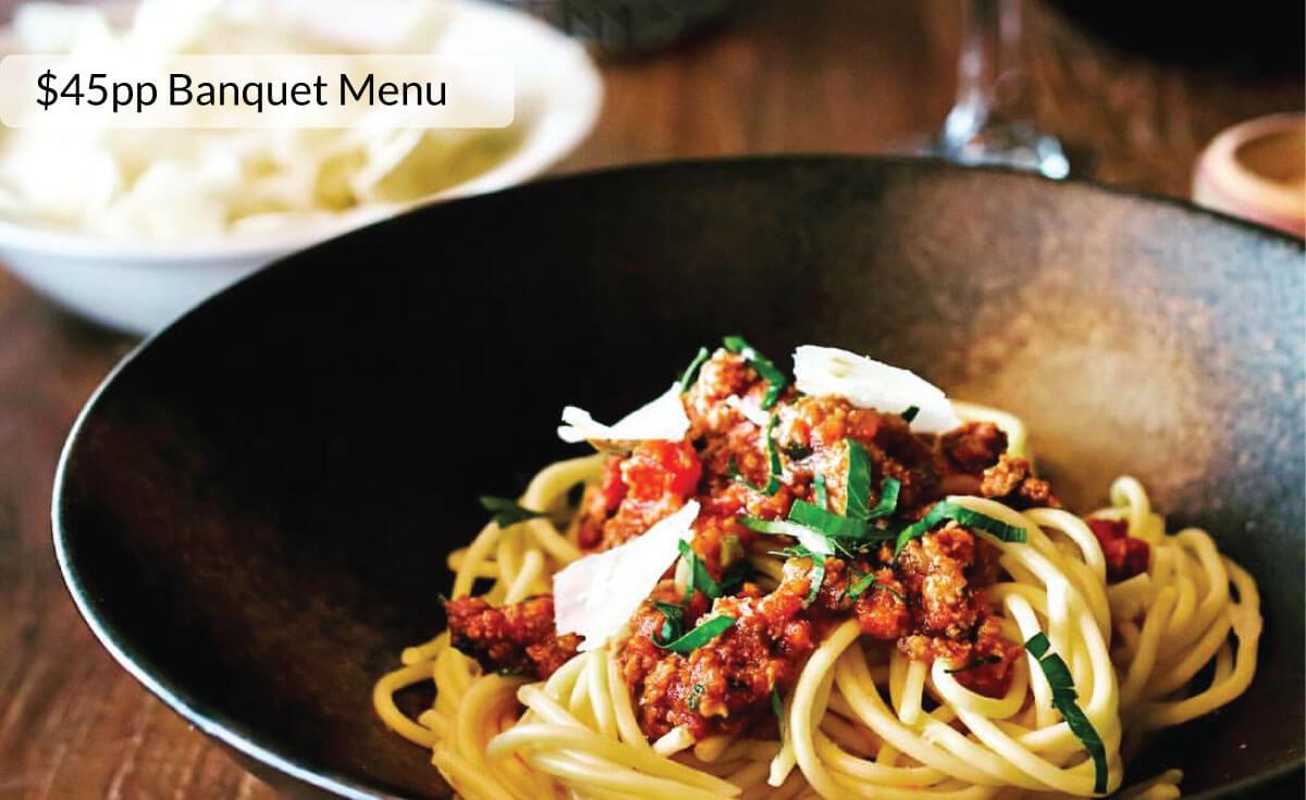 Food Menu - Casa's Functions & Banquet Menu