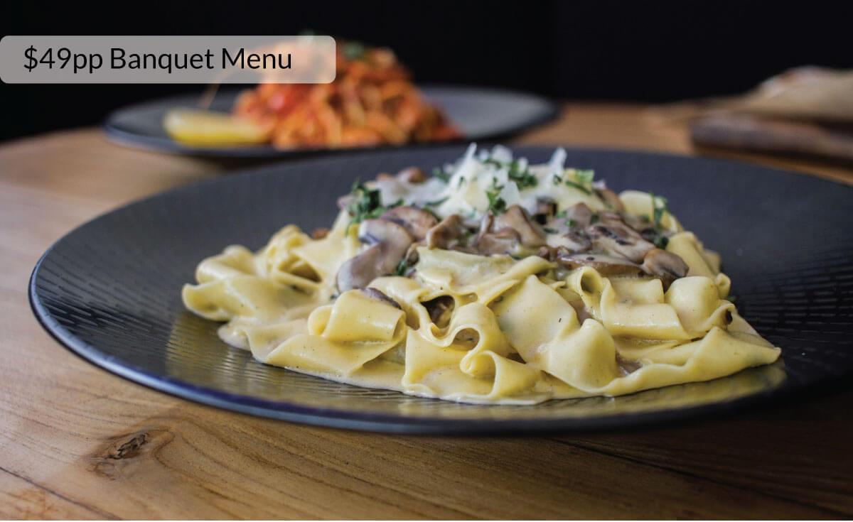 $49pp Banquet Menu