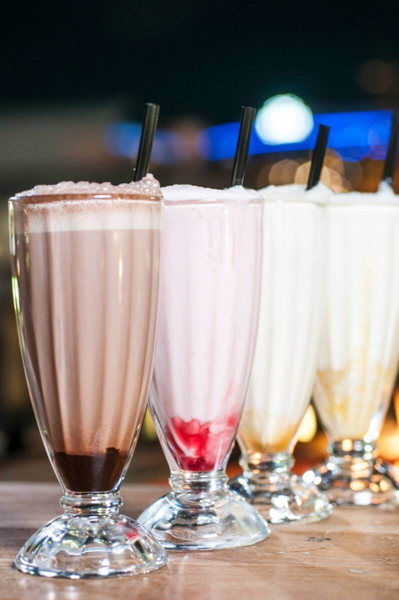 Cold Drinks Casa's Milkshakes