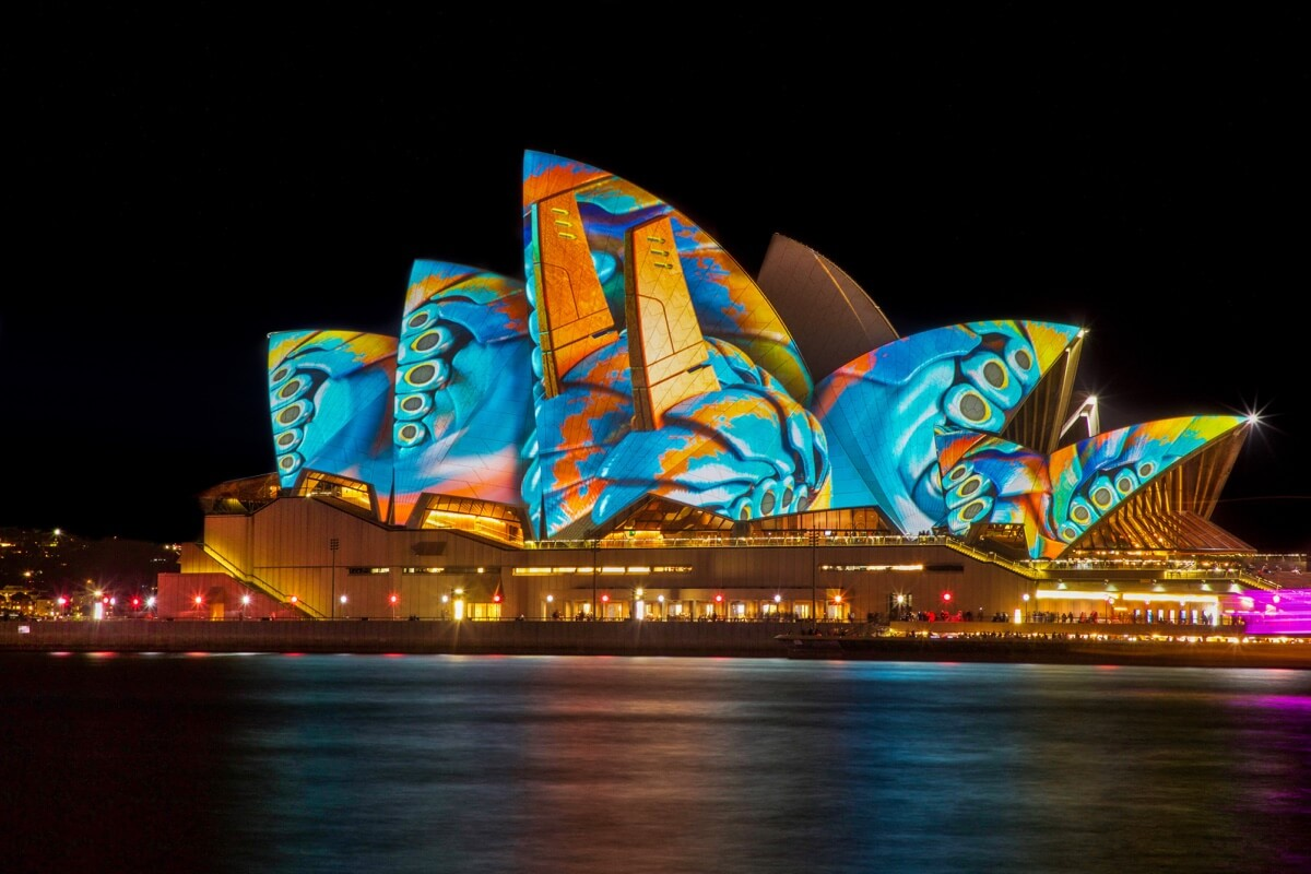 Enjoy VIVID 2019 at Casa -Opera House Vivid Sydney