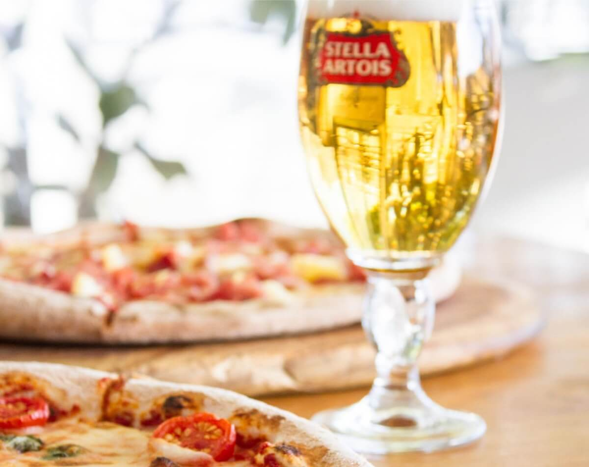 Casa's Beers on Tap. Try a Stella