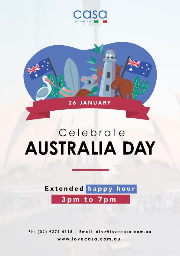 casa australia day