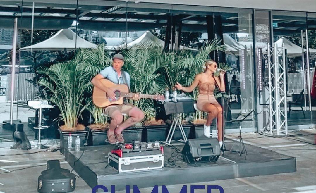 Music at Summer Sessions at King Street Wharf