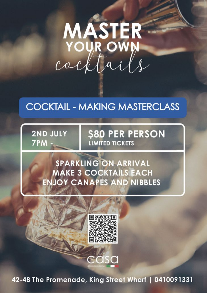 open cocktail classes